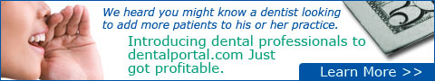 Join the Dentalportal.com affiliate program